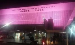 Hospital se veste de rosa em prol de campanha na Capital