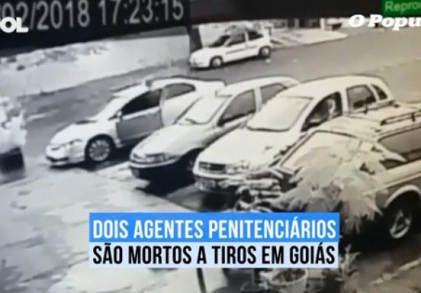 Agentes penitenciários são assassinados em Goiás