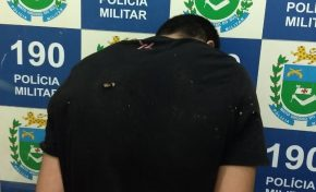 Jovem agride tio com tijolo em Aquidauana, tenta fugir da PM, mas acaba preso