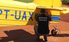 Aviões agrícolas e fazendas são alvos de operação