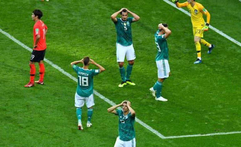 Coreia do Sul vinga Brasil e manda Alemanha para casa na 1ª fase da Copa