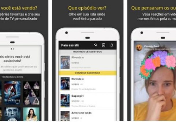 Organize e receba notícias das séries que você ama via app