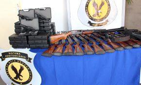 Agepen recebe doação de armas de uso restrito do Departamento Penitenciário Nacional