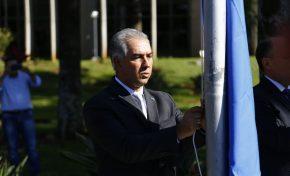 Governador Reinaldo Azambuja e secretários serão empossados nesta terça-feira