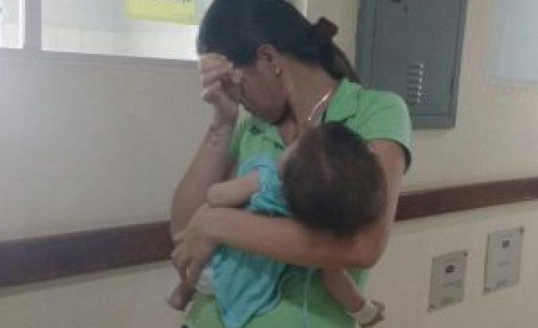 Bebê de cinco meses está internado na Santa Casa com meningite