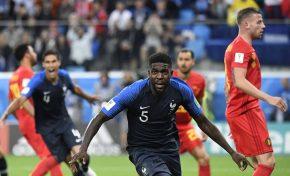 França adia sonho belga e garante primeira final de Copa