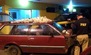 De Belina, traficante tenta cruzar MS para entregar maconha em SP