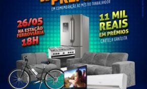 Bingo gratuito com atrações musicais irá agitar final de semana em Aquidauana