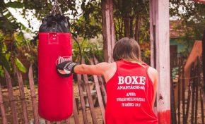 Lutadores da Associação Aguilera's participam de Circuito MS de Boxe