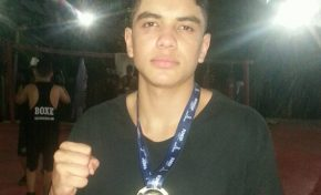 Aos 15 anos, boxeador de Anastácio irá representar MS em Campeonato Brasileiro