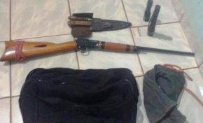 Rifle, munições e facas: PMA evita caça ilegal ao prender caçador