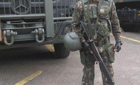 Morre 1º militar durante operação da intervenção no RJ