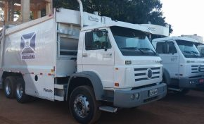 Prefeitura contrata mais dois caminhões para coleta de lixo em Aquidauana