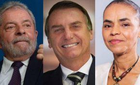 Lula tem 30%, Bolsonaro, 17%, Marina, 10%, aponta pesquisa Datafolha para 2018