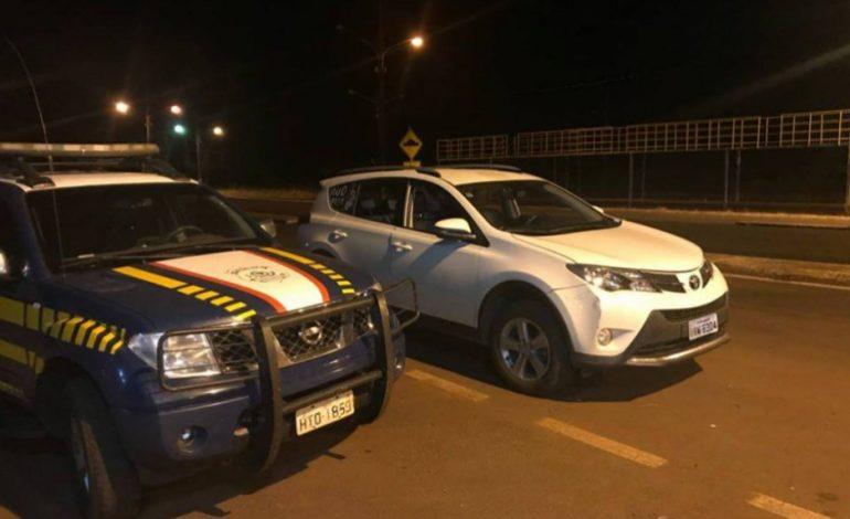 Jovem é preso com carro roubado ao levar Thiago Brava para show em MS