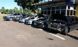 Comboio de carros roubados a caminho de MS é descoberto pela PRF