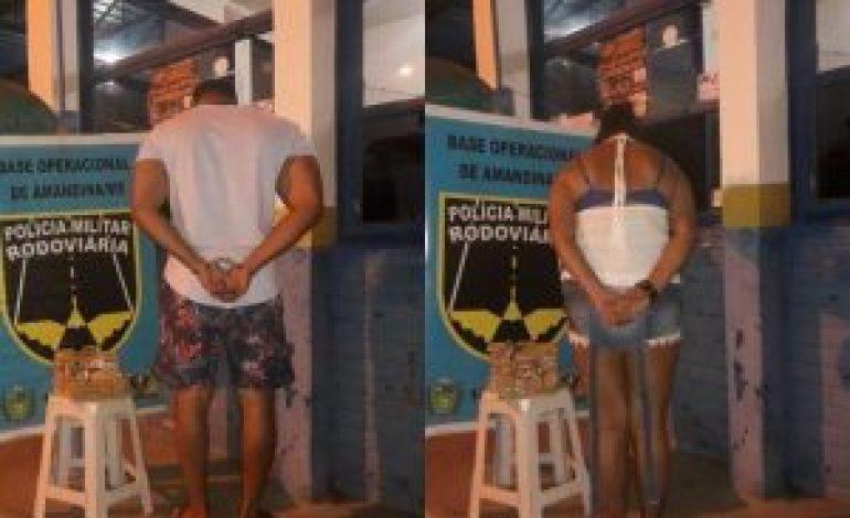 Casal de Baianos é preso em MS por tráfico de munições