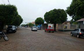 Tempestade e granizo marcam fim de estiagem em Mato Grosso do Sul