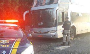 Presidente da CUT-MS é preso em ônibus clandestino em viagem para acompanhar julgamento de Lula
