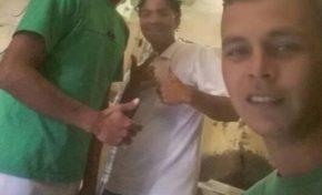 Preso faz selfies e atualiza Facebook de dentro do presídio de Dois Irmãos do Buriti