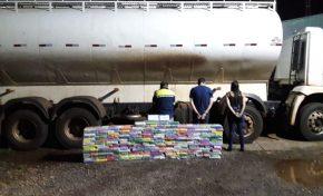 PM dá prejuízo de R$ 15 milhões a traficantes ao apreender carregamento de cocaína