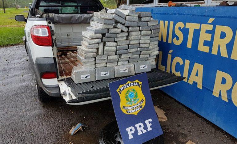 Dupla de MS é presa com cocaína no PR; carga foi avaliada em R$ 3 milhões