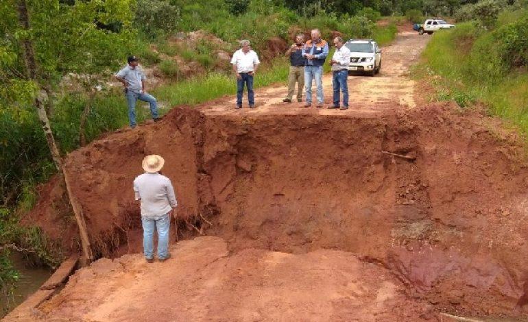 Mais quatro municípios vistoriados pela Defesa Civil acumulam estragos por conta das chuvas