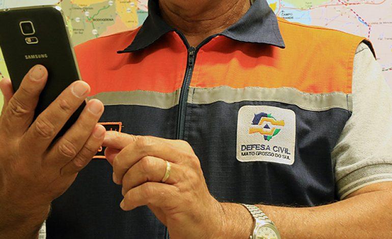 Defesa Civil inicia serviço de alerta de desastres naturais via SMS