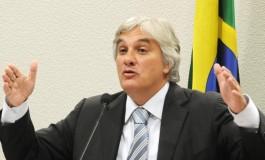 Preso senador Delcídio do Amaral em Brasília