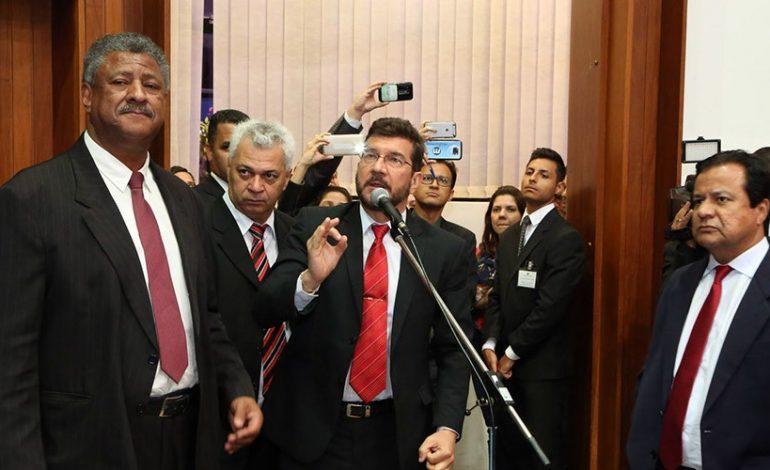 Congratulação a Marun gera polêmica na Assembleia Legislativa