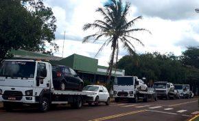 Detran-MS dá início a remoção de veículos que serão transferidos para pátios terceirizados