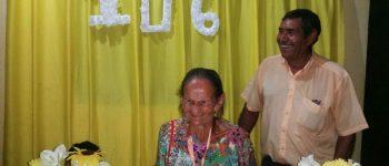 Lúcida e bem humorada, mulher completa 106 anos de idade em Aquidauana