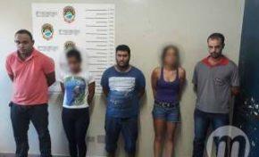 Quadrilha é presa após oferecer cocaína para policiais que investigavam roubo