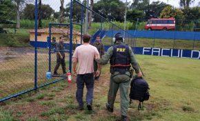 Homem é preso em Brumadinho por equipe da PRF de MS por uso de drone irregular