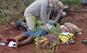 Duas pessoas morrem após serem atingidas por raio