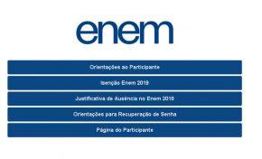 Estudantes já podem pedir isenção do Enem