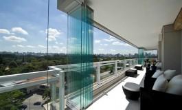 Fechamento de varanda deve ser feito com vidro solar