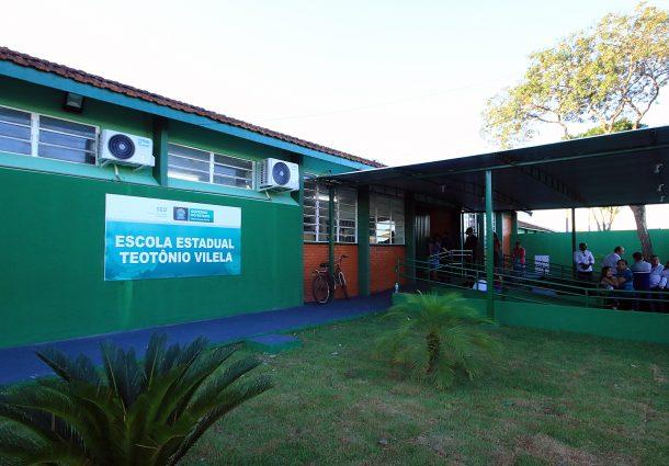 Governo de MS e Tribunal de Justiça entregam 10ª escola reformada por presos