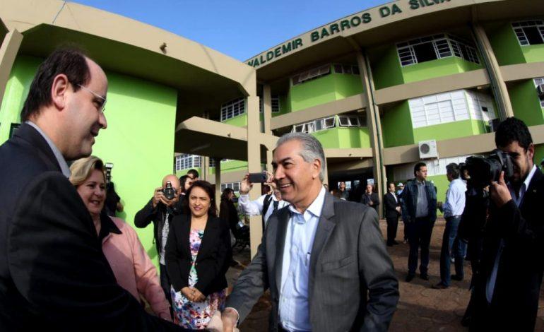Entre as melhores do País, Governo de MS inaugura reforma de escola na Capital