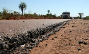 Rodovia entre Jardim e Bonito está 98% concluída