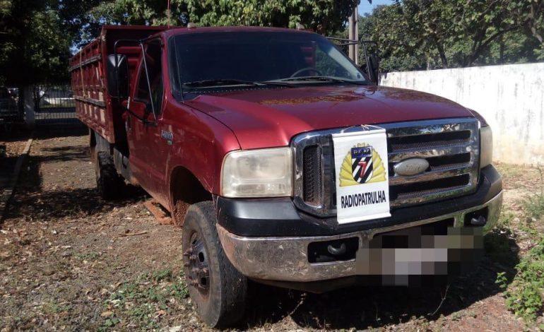 Polícia Militar recupera em Aquidauana veículo furtado na Capital