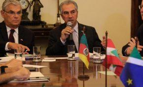 Azambuja prega união com estados do Sul para fechar fronteiras do Brasil