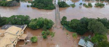 Governador segue para Aquidauana e vai ser reunir prefeitos de cidades afetadas por chuvas e cheias