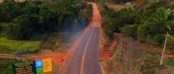 """""""Vamos construir aqui uma das estradas ecológicas mais belas do Estado e do País"""", diz Azambuja sobre estrada parque"""
