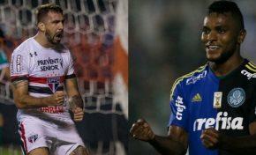 Palmeiras x São Paulo marca duelo dos principais astros do Mercado da Bola