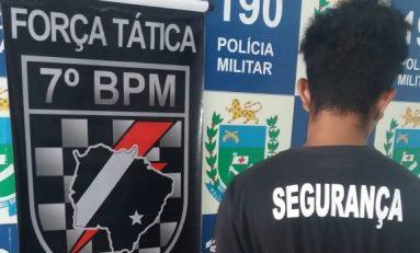 Ladrão que furtou farmácia em Aquidauana é preso pela Força Tática