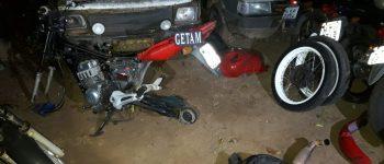 Ladrões são presos pela PM após depenarem motos de pátio do Detran em Aquidauana