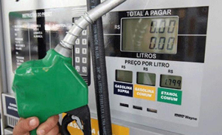 Preços da gasolina e diesel terão a primeira variação de 2018