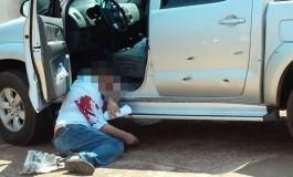 Homens fortemente armados executaram Goldoni