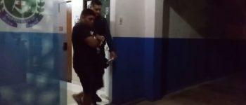 Vídeo: Ladrão motoqueiro que aterrorizava mulheres é preso pela PM de Anastácio, mas solto na delegacia